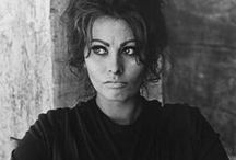 S O P H I A / Always inspired by Sophia Loren. My favorite shots of her.
