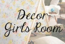 Decor - Girls Room / Adorable ideas for a Girls bedroom