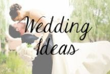 Wedding Ideas / Ideas for the Bride and Groom
