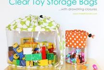 Storage Ideas for Toys / Toys can overtake our homes pretty quick. Here are some inventive storage ideas for toys.