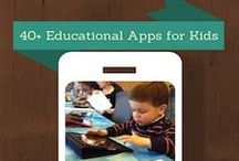 Favorite Kids Apps and Websites / These are some of my favorite kids apps for the iPad/iPhone/iPod and some awesome educational websites.