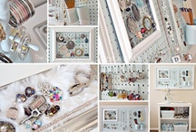 DIY Crafts, Organizing, Jewelry Ideas / Clever & Useful ideas for DIY home crafts.  / by Liz Garrison