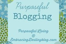 blogging & social media / Improving my blog and using social media
