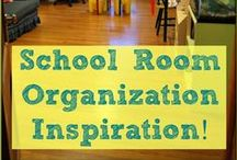 Homeschool rooms and organization