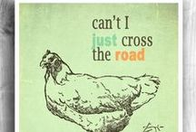 Why did the chicken cross the road / by Misty Shaw