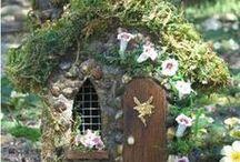 faerie homes,gardens