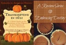 Homeschool: Thanksgiving