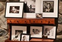 Displaying family photographs / Tips and inspiration for creating impactful displays of your child, baby, and family photographs.