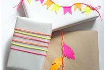Gift wrap / by Ranjini Thomas