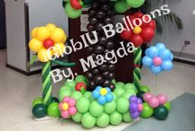 iGlobIU Balloons! Magda!!! / This Board is about balloon decorations, ideas and tutorials from different Balloon Artists to make your party or event the best!  There are my creations too; iGlobIU Ballons by, Magda / by Magda Nieves