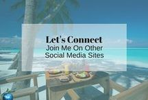 Let's Connect | Join Me On Other Social Media Sites / It is fun pinning with you, but let's see what else you're up to.  Connect with me on other social media platforms and all around the web!  Here are all the links in one place!
