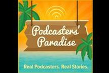 """Podcasters' Paradise R'NR / Podcasts from """"Podcasters' Paradise Pay It Forward Friday"""" (PIFF) that I get to review!  Shameless Cross-Promotion of my fellow Paradisers!"""