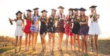 GRADUATION / Ways to celebrate college graduation and memorable, custom gift ideas for the college grad.
