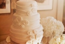 wedding cakes / by Traciee' Williams
