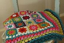 To crochet: blankets
