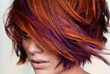 hairstyles, colors, and cuts / by Traciee' Williams