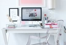 Home Inspiration - Desk & Office / Inspiration for my work space