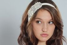Ritzy Rose Hair Accessories / Handcrafted headbands, combs, fascinators, veils and clips. From the understated to over the top statement piece.