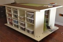 Sewing Room Organization / by Sharon Bourque
