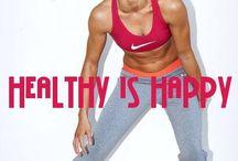 Fitness inspiration board