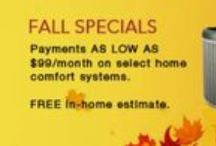 HVAC Service and Repair Specials / Check out the specials we have going on at Service Experts.  / by Service Experts
