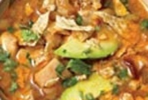 SOUPS, STEWS & SALADS / by Mary-Ann