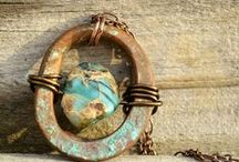 Rustic (And Fun) Artisan Jewelry / Rustic, unique artisan jewelry with flair
