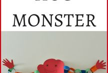 Kiddie Krafts / Craft projects for babies, toddlers, and young children. Paper Crafts | Painting | Finger Paint | Salt Dough | Clay