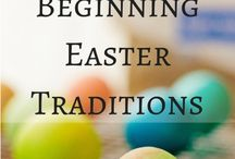 Easter / Easter decor, projects, and food