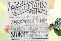 Signs / Chalkboards and other signs for menus, welcome, seating, and more...