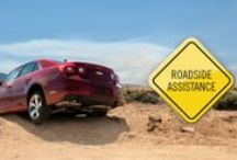 Roadside Assistance / With Roadside Assistance, no matter where you are, you're never alone. Just one push of the blue OnStar button and help is on the way, empowering you to get on with your day. And it's included, at no extra charge, in your service!