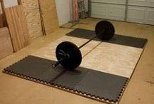 Homes - Garage Gym Ideas
