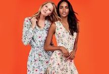 In the Garden / Fresh, easy and summer-ready in feminine garden florals, ethereal mosaic prints and gingham.