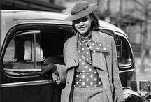 Fashion | 1930's / #1930fashion #style #styleinspiration #vintage #vintagefashion