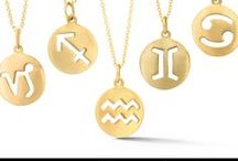 Carelle Zodiac Collection / Zodiac Charms in 18 karat Carelle signature satin finish yellow gold.