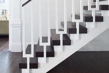 // hallways + staircases