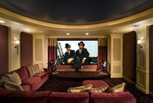 Media Rooms / by Michael Lee - Builder of Homes and Villas