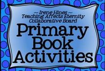 * ~ Primary Book Activities ~ * / Welcome To Primary Book Activities! We hope you enjoy our creative collection of units, projects, links & book ideas. Thanks for following! *** PINNING GUIDELINES*** PLEASE Pin 1 priced item (with $) at a time with 5 or more other posts or ideas that are about books or reading and NOT a product. Please just pin one priced item per day. Thank you for keeping this board balanced. ~This board is closed to new collaborators at this time. ~ / by Irene Hines ~ Teaching Affects Eternity ~