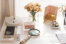 Study/Studio/Desk Inspiration / Desk or study or studio inspiration for the creative