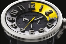 Tendence Watches / Swiss Watches have never been this cool!  These designs have brought watchmaking to new heights (literally). A blend of form and function, the Tendence collection is a highly evolved concept, with extreme dimensions and three-dimensional numbers carved to stand high above the concave dial, itself cut from stainless steel, polycarbonate or titanium. http://www.watchismo.com/tendence-watches.aspx / by Watchismo.com