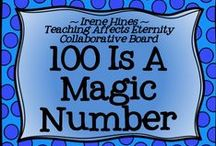 "* ~ 100 Is A Magic Number ~ * / Welcome To ""100 Is A Magic Number."" We hope you enjoy our creative collection of ideas, units, charts, projects, centers & ideas for the 100th Day Of School! ***PINNING GUIDELINES*** PLEASE Pin 1 priced item (with $) at a time with 5 or more other posts or ideas that are about the 100th Day Of School and NOT a product. Please just pin one priced item per day. Thank you for keeping this board balanced. ~This board is closed to new collaborators at this time. ~"