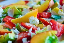 salads. / Salads of all different kinds
