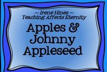 """~ """"A-peeling"""" Apple Activities ~ / Activities to go with Apples and Johnny Appleseed. / by Irene Hines ~ Teaching Affects Eternity ~"""