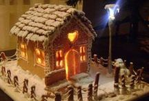 Great Gingerbread House Sale inspiration / To celebrate the launch of Shelter's Great Gingerbread House Sale, we've created a board of some gingerbread cakes, houses and decorations to inspire you! / by Shelter