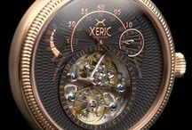 XERISCOPE: The Orbiting Mechanical Automatic Watch by XERIC / XERIC Watches: Stop strangers in their tracks with an unusual mechanical time machine beating on your wrist. Meet the XERISCOPE.   Just launched on KICKSTARTER: http://www.kickstarter.com/projects/watchismo/xeriscope-the-orbiting-mechanical-automatic-watch / by Watchismo.com