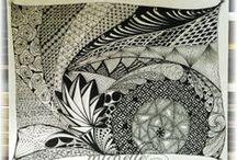 My Zentangle-Inspired Creations / My Zentangle-Inspired Creations