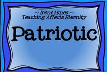 ~ Red, White and Blue ~ / by Irene Hines ~ Teaching Affects Eternity ~