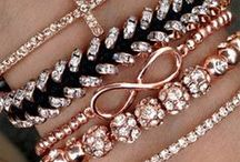 Accessories / jewelry love; necklaces, bracelets, rings, earrings  watches, handbags, headbands, hats, scarves, ect.  / by Amber Kress