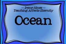 ~ Ocean Commotion ~ / by Irene Hines ~ Teaching Affects Eternity ~