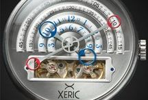 """Meet The XERIC HALOGRAPH / Officially the most funded mechanical watch in Kickstarter history, the new limited edition Halograph Automatic features """"halo"""" hands that display the time in an entirely new way, yet it's super-easy to read. It doesn't need batteries or updates to do its work while summoning compliments and sparking conversation everywhere you go. All it needs is YOU.  The XERISCOPE lives on mechanical energy. It's not an electronic gadget: it's a mechanical heirloom. http://www.watchismo.com/xeric-watches.aspx / by Watchismo.com"""